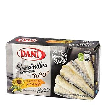 Dani Sardinillas Premium en aceite de girasol 65 g