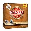 Café largo 20 cápsulas caja 104 gr Caja 104 gr Marcilla