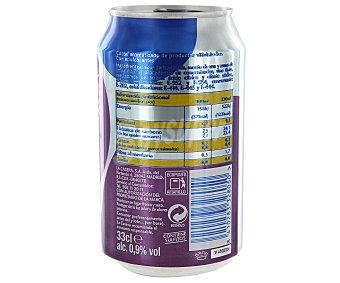 La Casera Tinto de verano limón sin alcohol Lata 33 cl