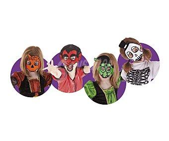 HAUNTED HOUSE Pack con 4 máscaras surtidas Maskoweenies, Halloween 4u