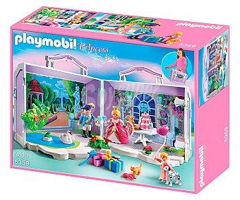 PLAYMOBIL Playset con figuras, tarta de cumpleaños y regalos. Maletín de cumpleaños princesa, modelo 5359 de 1 unidad