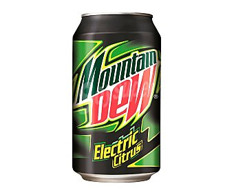 Mountain Dew Bebida sabor lima  Lata 330 ml