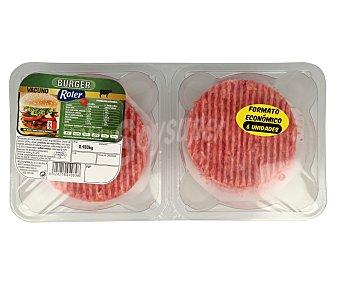 Roler Burger meat de vacuno 6 x 80 gr