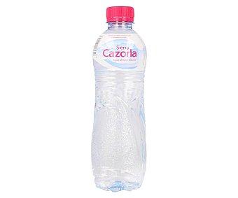 Sierra de Cazorla Agua mineral Botella 50 cl