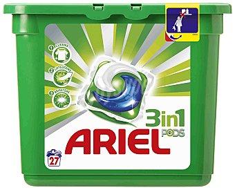 Ariel Detergente Ariel 3 en 1 Regular 27 Tabs 27 dosis