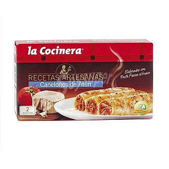 La Cocinera Canelones de atun Recetas Artesanas estuche 530 g