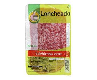 Productos Económicos Alcampo Salchichón extra en lonchas 200 gramos
