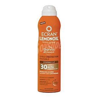 Ecran Aftersun Spray protector invisible FP 30 Lemonoil 250 ml