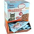 Gambicat snacks para gatos sabor pescado Envase 60 g TASTY