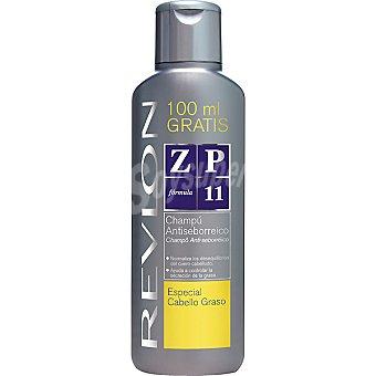 REVLON ZP 11 Champú antiseborreico especial cabello graso frasco 300 ml + 100 ml gratis Frasco 300 ml + 100 ml gratis