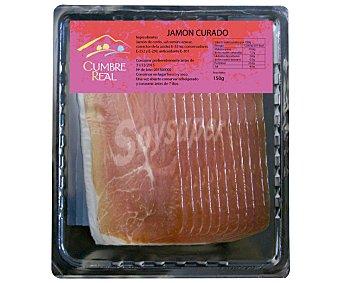 CUMBRE REAL Jamón curado en lonchas 150 gramos