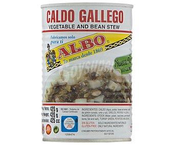 Albo Caldo gallego con verduras Lata 425 g (peso neto escurrido)