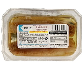 Kiele Lomos de sardina ahumada 100 g