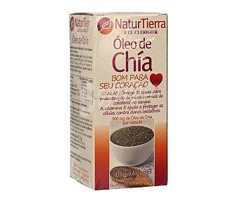 NaturTierra Perlas de aceite de chía 30 uds