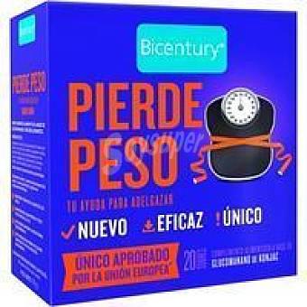 Bicentury Pierde peso en comprimidos Caja 20 unid