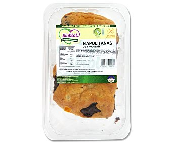 Sinblat Napolitanas de chocolate sin gluten 2 uds. 150 gr