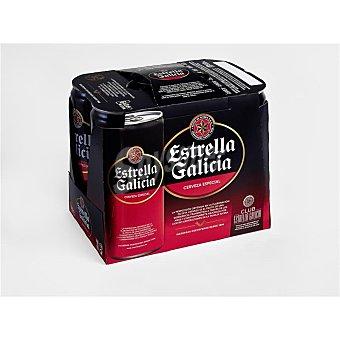Estrella Galicia Cerveza Lata pack 6x33 cl