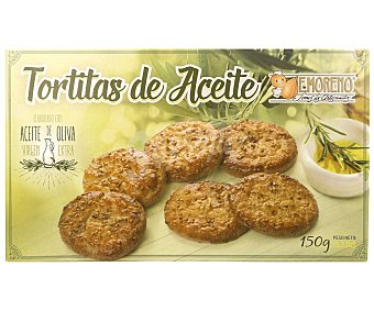 E.moreno Tortitas de aceite dulcestepa Caja 150 g