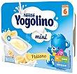 Postre lácteo de plátano a partir de 8 meses yogolino Pack de 6 u x 60 g - 360 g Nestlé