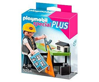 PLAYMOBIL Figura Special Plus Arquitecto con mesa de trabajo, modelo 5294 de 1 unidad
