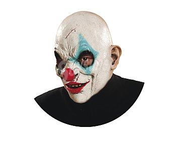 MY OTHER ME Complemento para disfraz Halloween, máscara de payaso zombie Máscara payaso zombie