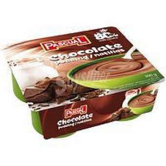 Pascual Natillas de chocolate Pack 4x75 g