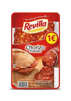 Revilla Chorizo selecto, sin gluten y cortado en lonchas 80 g