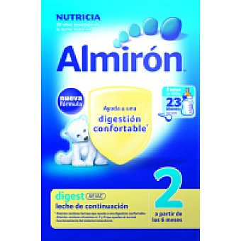Almirón Nutricia Leche polvo digestiva 2 800gr