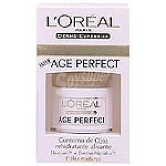 Dermo Expertise L'Oréal Paris Contorno de ojos Age Perfect anti-arrugas tarro 15 ml Tarro 15 ml
