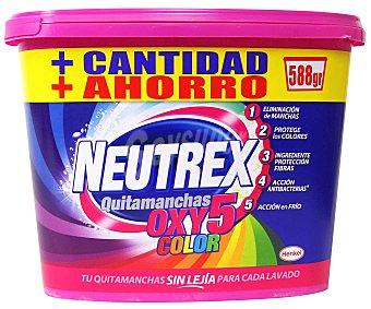 Neutrex Activador OXI 5E, quitamanchas sin lejía 588 gramos