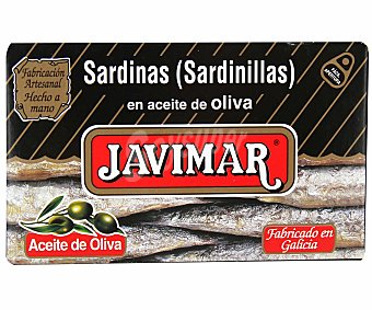 Javimar Sardinilla en aceite de oliva, fácil apertura 65 g