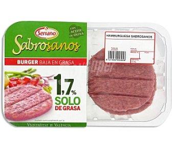 SABROSANA Burger de Cerdo 98 % Libre Grasa 360g