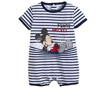 Mickey Disney Pelele corto para bebé Mouse, talla 68 talla 68