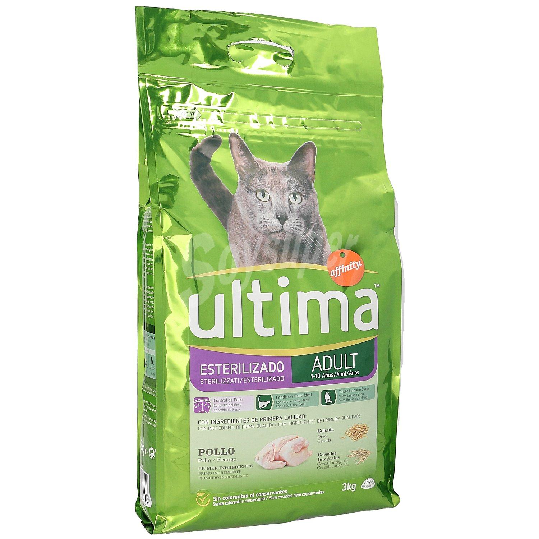 Ultima affinity alimento completo para gatos esterilizados - Alimento para gatos esterilizados ...
