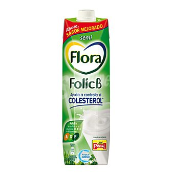 Flora Folic B Preparado Lácteo Flora floricb Semi. Brik 1 litro