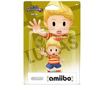Nintendo Figura amiibo Lucas, serie Super Smash Bros, compatible con wiiu, Nintendo New 3Ds y New 3Ds XL 1 unidad