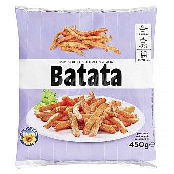Grueso Batata prefrita congelada corte Paquete 450 g