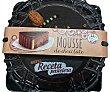 Tarta mousse chocolate 12 raciones (redonda) pastelería congelada horno 900 g Deleites