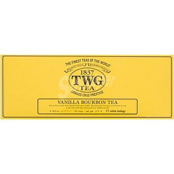 1837 TWG Té de rooibos con vainilla 15 bolsitas caja 37,5 g caja 37,5 g