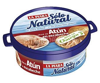 La Piara Sólo Natural Paté de atún en escabeche Pack 2 lata 75 g