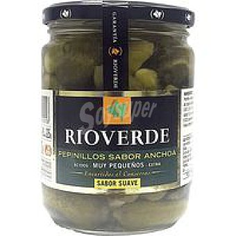 Rioverde Pepinillos sabor anchoa frasco 225 g