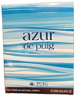 Puig Eau toilette mujer azur Botella de 200 cc