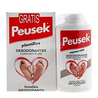 PEUSEK Desodorante para calzado y pies en polvo Express 150 g