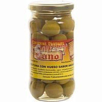 Cano Aceitunas sabor manzanilla con hueso Frasco 200 g