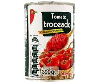 Auchan Tomate Troceado 390 Gramos