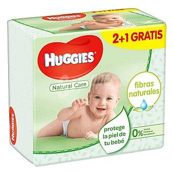 Huggies Toallitas para bebé natural care Paquete 168 uds