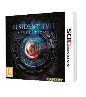 Nintendo Juego 3DS resident evil revelations nintendo