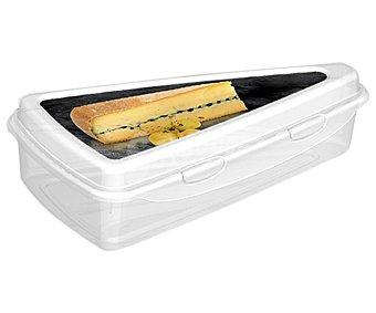 A FUEGO LENTO Recipiente hermético fabricado en plástico para cuña de queso 1 unidad