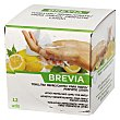 Toallitas refrescamtes para manos perfume limón Brevia 12 ud Brevia