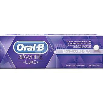 Oral-B Pasta dentífrica Efecto Perla 3D White Luxe tubo 75 ml